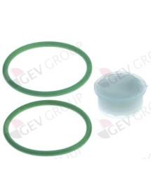 O-ring set Qty 2 pcs Angelo-po 60a0980