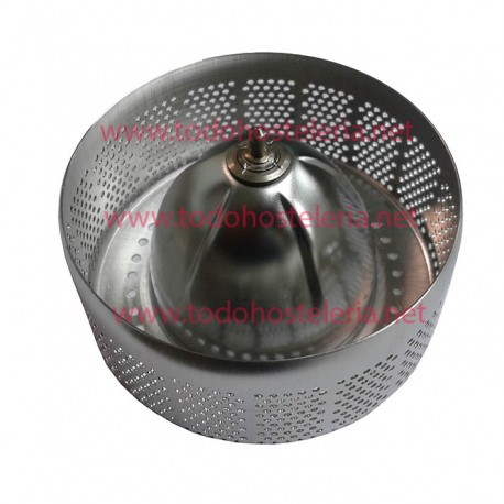 Stainless steel filter of juice juicer Cunill Acid1