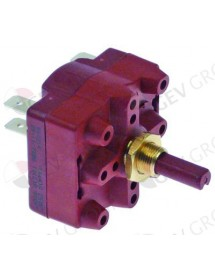 conmutador giratorio 4 0-1-2 juegos de contactos 2 tipo 4RH Gottak Braher