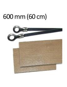Repuesto Soldadora de Bolsas 600 mm (2 resistencias y 2 cinta antiadherentes)