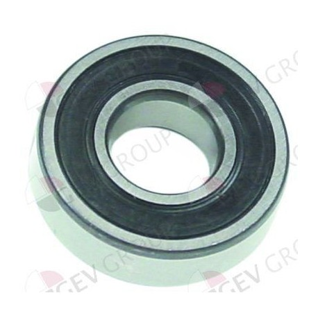 deep-groove ball bearing type DIN 6204-2RS shaft ø 20mm ED ø 47mm W 14mm with sealing discs