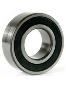 deep-groove ball bearing type DIN 6206-2RS shaft ø 30mm ED ø 62mm W 16mm with sealing discs