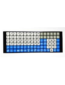 Pushbutton panel cover 96 Keys Epelsa K Scale