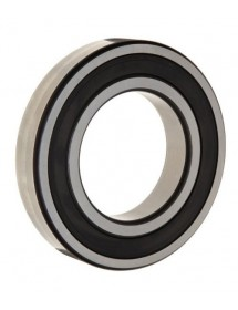 Deep-groove ball bearing shaft ø 20 mm ED ø 52 mm W 15 mm type DIN 6304-2RSR with sealing discs