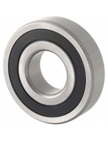 deep-groove ball bearing shaft ø 30 mm ED ø 72 mm W 19 mm type DIN 6306-2RSR with sealing discs