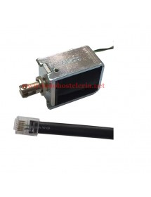 Electroimán cajón 24 Voltios conector RJ11