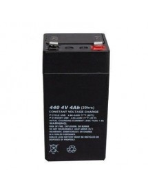 4V standard lead battery 40x100x40mm