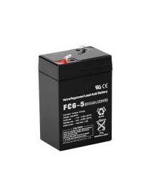 Batería de plomo 6V estandar 70x100x50mm