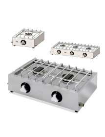 Economic burner stove 1, 2 or 3 burners