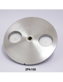 Plato hamburguesa de 100 mm diámetro 2PA100