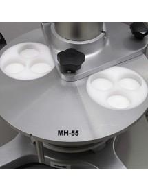 Plato 3 mini hamburugesas de 55 mm diámetro 2PA55