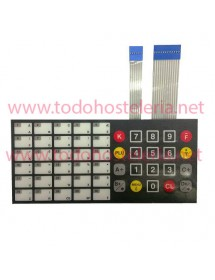 Flat keyboard 50 keys Epelsa scale