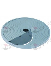 slicing disk type S1 ø 206mm seat ø 19mm slicing thickness 1mm plastic Celme, Fimar