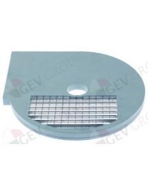 rejilla a cuadrados tipo D10 ø 210mm soporte ø 32,5mm espesor de corte 10mm plástico Celme, Fimar