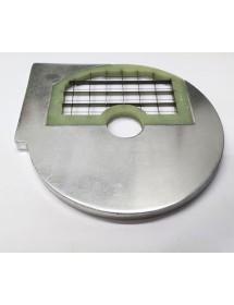 rejilla a cuadrados tipo D10 HLC300 ø 210mm soporte ø 32,5mm espesor de corte 10mm plástico