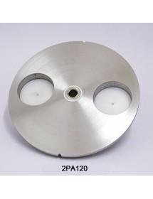 Plato hamburguesa de 120 mm diámetro 2PA120
