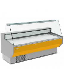 Vitrina expositora Refrigerada Cristal Recto Fondo 80 cm