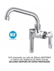 Intermediate tap, faucet you shower Eco