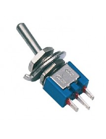 Toggle switch, 3A M5 Subminiature