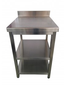 Wall Work Table Stainless steel wall 600x700 mm