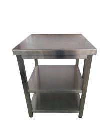 Table en acier inoxydable 700x600 mm
