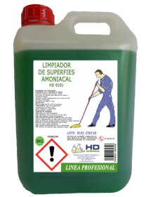 Limpiador Amoniacal Pino HD-9101 (5 Kg)