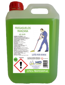Fregasuelos Bioalcohol Manzana HD-9105 (5 Kg)