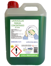 Lavavajillas Manual Concentrado HD-9355 (5 Kg)