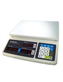 Balanza comercial Cas PRP-15 15 kg Plana