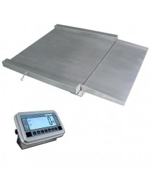 4 Cells profile scale 1200x1200mm Stainless Steel