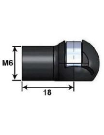Plastic ball joint head 10 L18G M6