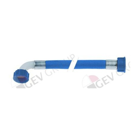 Tubo flexible de entrada pvc recto curvado dn12 empalmes 3 for Tubo de pvc flexible