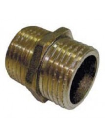 "Junction 1/2 ""brass Male-Male"