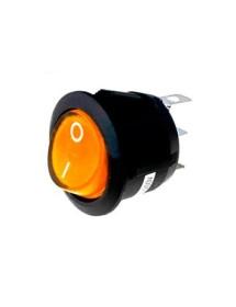 interruptor basculante medida de montaje 20mm Verde 1NO 250V 16A 0-I empalme conector Faston 4,8mm OZTI 6232.00011.01