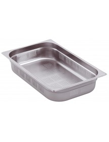1/1-65 Gastronorm containers Stainless steel AISI304 perforated 530x325x65mm 9.2L