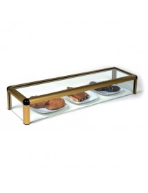 Neutral flat glass display case