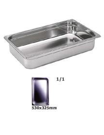 Cubeta Gastronorm Lisa EUTRON 2/1-65 650x530x65mm 18,8L