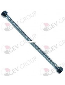 """Flexible hose stainless steel braid 3/8"""" H - 3/8"""" H conical closure"""