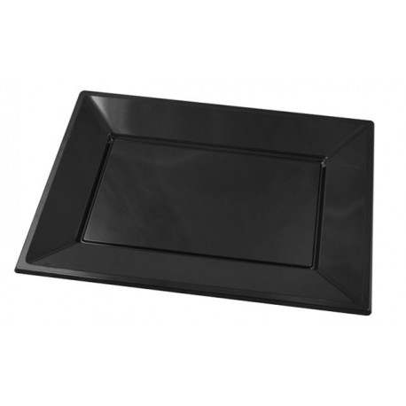 White rectangular tray PS 330x225mm (25 pcs)