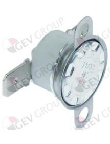 termostato de contacto dist. del agujero 23,5mm temp. desconexión 160°C 1NC 1 polos 16A 250V KSD1 160