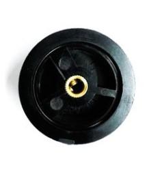 Plastic control shaft or 6mm diameter 45 mm Salamander ES-538 two screws securing the shaft