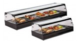 Refrigerated display for trays