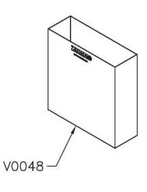 Stainless cuvet 9L Zummo V0048