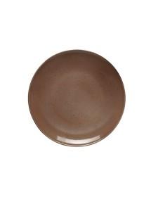Flat plate 21 cm DOTS Tierra (6 pcs)