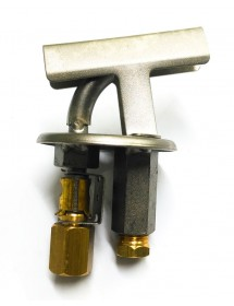 pilot burner PRO-GAS type 100 series 3 flames nozzle ø 0,35mm Turhan