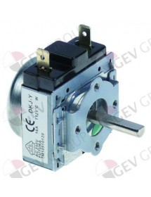timer M11 with bell 1-pole operation time 30min impulse mechanical 1NO at 250V 15A shaft ø 6x4.6mm DKJ/1-30
