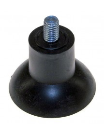 Pie de aparato M8 ø 47mm H 35mm longitud de rosca 12mm