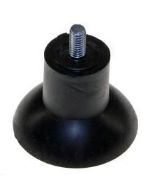 Pie de aparato rosca M6 rosca L 11mm H 48mm ø 48mm UE 1 pzs