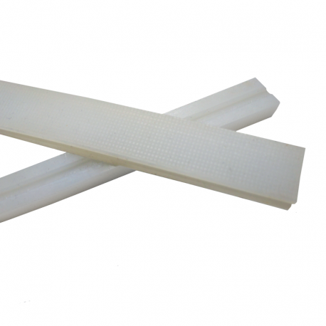 Silicon Bar for Sealing Vacuum Packing 510x16x11mm half slotted