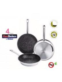 St Steel Fry pan Inoxtone